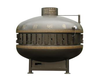 UFO镶金色烤鱼炉